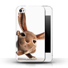 Stuff4 Hülle/Case für Apple iPhone 4/4S/Neugieriges Kaninchen/Lustige Tiere