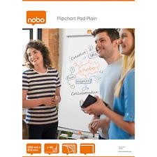 A1  Nobo Flipchart Pad Plain 35 Sheets 34631165