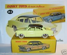 Dinky toys atlas simca versailles BICOLOR yellow black roof 1/43 ref 24z in box b