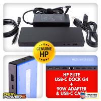 HP Elite USB-C Dock G4 Laptop Docking Station For EliteBook 830 G5 840 G5 850 G5