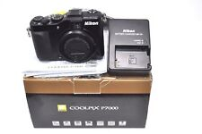 Nikon COOLPIX P7000 10.1MP Digital Camera - Black-Used