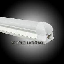 T8-Integrated 4FT 18W Cool White LED Tube Light Bulb 4 Feet Fluorescent Lamp