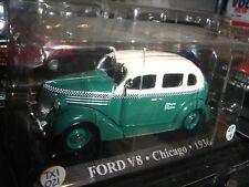 1/43 Ford V8 TAXI Chicago United Stades 1936 Die Cast
