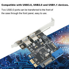 PCI-E PCI Express to USB3.0 4-Port Type C Expansion Card Adapter for PC Laptop