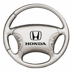 Honda Key Ring Chrome Steering Wheel Keychain
