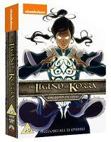 The Legend Of Korra Complete Series 1-4 [8x DVD] *NEU* Buch 1 2 4 auf Deutsch
