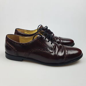 Women's MIMCO Sz 41 MIM/EU   10 US Shoes Brown Leather Oxford   3+ Extra 10% Off