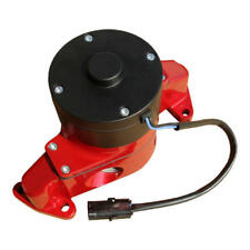 Proform Water Pump 68220R; 35 GPM Red Powdercoat Aluminum Electric for Ford SBF