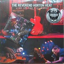 Live At The Fillmore by The Reverend Horton Heat (2LP's/DVD, 2012, Yep Roc) NEW