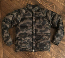 Bape 1st Camo Down Jacket FW18 Green Men's Size Small
