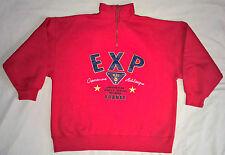 Vintage Express Athlétique 1/4 Zip Pullover Sweatshirt Men's Medium