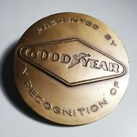 VTG Medallic Art Co Bronze Goodyear Recognition Plaque Medal