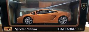 Maisto Special Edition Lamborghini Gallardo Super Car 1:18 New In Box