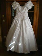 Brautkleid Hochzeitskleid Kleider Weiß Ballkleid Weiß 36/38 Standesamt