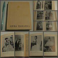 1965 ANNA PAVLOVA  RUSSIAN USSR BALLET BOOK PAWLOWA V.Krasovskaya