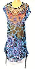 plus sz M / 20 TS TAKING SHAPE Paradiso Dress overlay sheer sexy NWT rrp$110!
