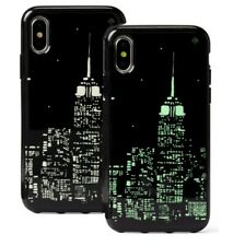 Kate Spade Glow in the Dark EMPIRE STATE BLDG Skyline Comold Case iPhone XS Max