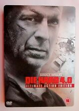 Die Hard 4.0 Ultimate Action Edition DVD Steelbook New and Sealed UK Release R2
