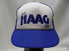 A. C.HAAG Co Vintage - camionneur Style réglable casquette boule chapeau