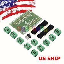 Screw Terminal Expansion Adapter Board Shield 4 Arduino Nano V3.0 ATMEGA328P