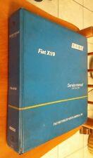FIAT X1/9 X19 X 1/9 Manuale di Assistenza Officina Riparazione originale 1978