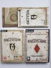 Elder Scrolls IV- Oblivion PC with Knights of the Nine Expansions Mint Condition