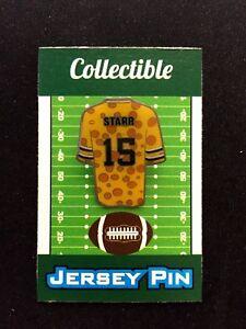 Green Bay Packers Bart Starr jersey lapel pin