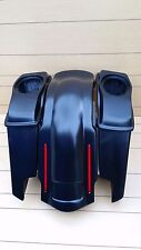 "HARLEY DAVIDSON 6"" STRETCH SADDLEBAGS,LIDS AND LED REAR FENDER FOR 96/2013"