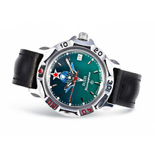 Vostok Komandirskie Military Russian Mechanical Watch Commander Paratrooper VDV