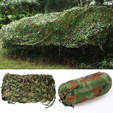 3m*4m Woodland Camouflage Net Hunting Camping Camo with String Netting Backing