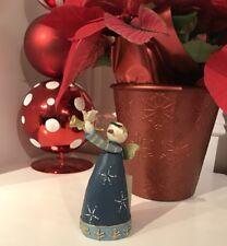 Williraye Studio - Sounds of Christmas Angel FFGH504245 Snow Man Angel Horn Gift