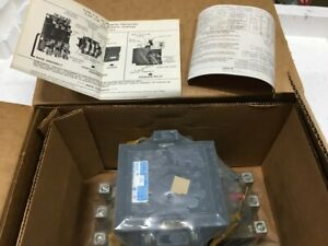 BRAND NEW IN BOX ITE GOULD A103E SIZE 3 120 V 15 HP MOTOR STARTER.
