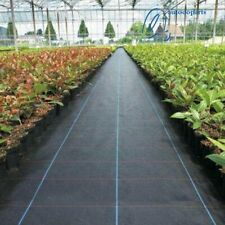 4FTx50FT WEED BARRIER Landscape Fabric Ground Cover US NEW