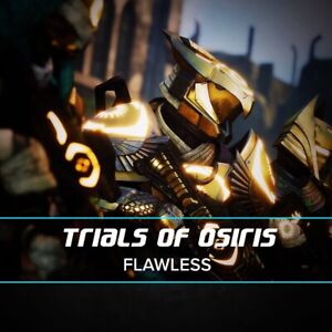 Trials of Osiris Flawless 100% Legit Fast Completion (PS/Xbox/PC!) Cross Save