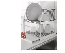 IKEA Dish Rack Drainer Kitchen Utensil Cutlery Drying Holder Dryer Tray BESTAEND