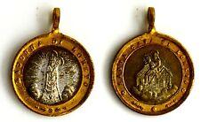 Medaglietta Religiosa Devozionale Madonna Di Loreto Santa Casa Di Loreto Bronzo
