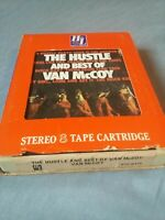 VAN MCCOY - The Hustle and Best of- 8 Track Tape -