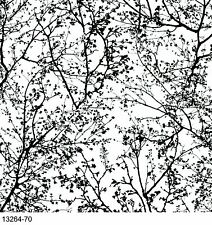 Graphics Alive Tree Black / White Wallpaper 13264-70