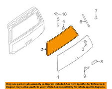 NISSAN OEM Lift Gate Tail Tailgate-Weatherstrip Weather Strip Seal 903107S00A