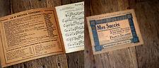 recueil 24 partitions Saxophone alto ou clarinette Mi b Mes Succès n°6 Salabert