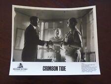 Crimson Tide Denzel Washington Gene Hackman 8x10 B&W Promo Photo