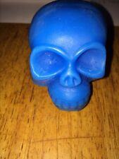Blacklight Wax Skulls 1 large and 1 small your choice of 11 different colors