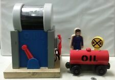 Thomas and Friends Wooden Railway Sodor Oil Depot