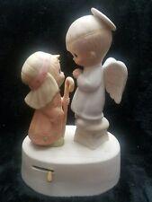 """JESUS IS BORN "" Precious Moments Music Box * Hark the Herold Angels Sing"