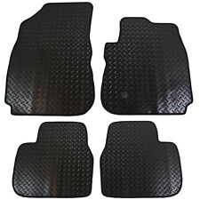 Citroen C4 Cactus 2014+ Fully Tailored 4 Piece Rubber Car Mat Set with 2 Clips