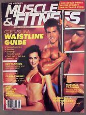 Muscle & Fitness bodybuilding magazine August 1985/ BOB PARIS