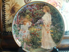 1998 Sandra Kuck Victorian Wings of Love Reco Le Mothers Day Porcelain Plate CoA