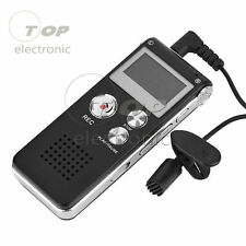 Rechargeable 8GB Digital Audio/Sound/Voice Recorder Dictaphone MP3 Player