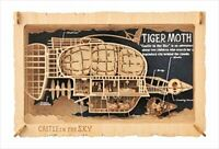 ENSKY PAPER THEATER Wood Style Castle In The Sky Laputa Tiger Moth