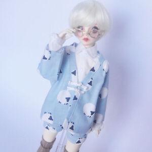 "Free shipping BJD Doll Hair Wig 8-9""1/3 SD DZ DOD LUTS White short wig"